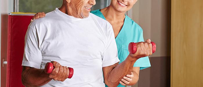 Beweging voor de Parkinson-patiënt