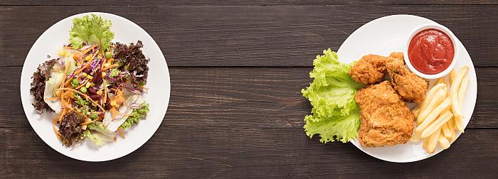 Dicht borstweefsel door 'ongezond' voedingspatroon