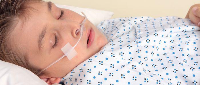 Bloeddrukcurve ontwikkeld voor kinderanesthesie