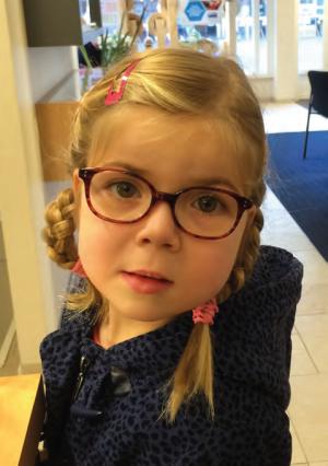 Norah heeft een Cerebrale Visuele Stoornis