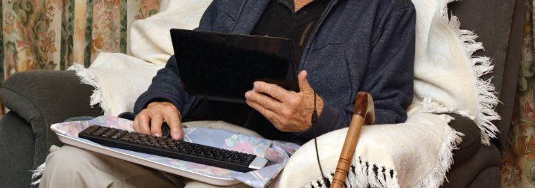 Een vitale oude dag met behulp van technologie