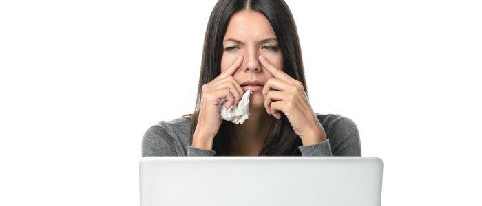 Verminderde productiviteit door CRS gelinkt aan depressie