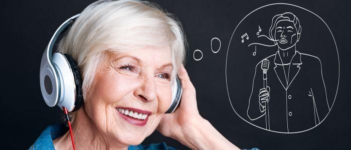 Vrolijke muziek helpt bij het oproepen van gelukkige herinneringen