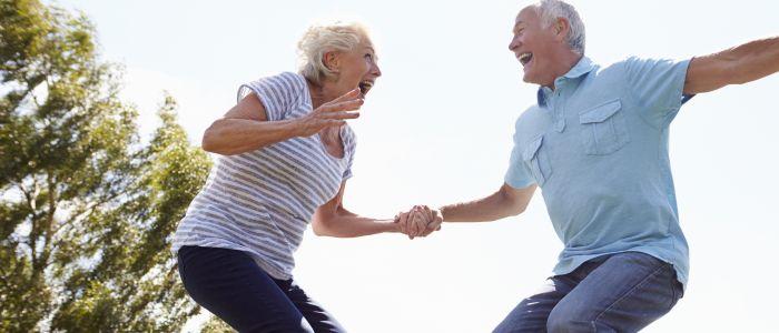 Trampolinespringen tegen osteoporose