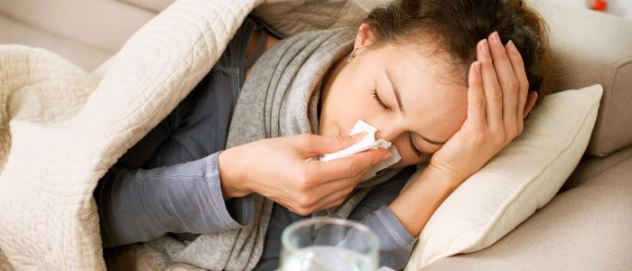 Griepprik vermindert het totale aantal zieken niet