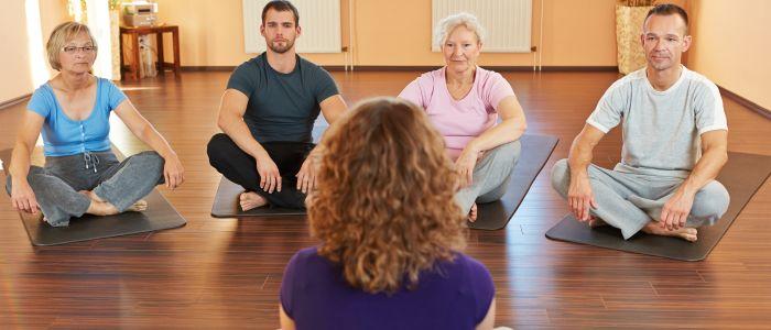 Verergering van een blessure door yoga?