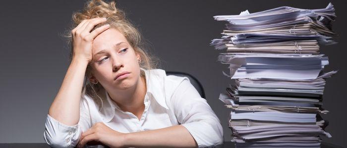 Vaker burn-out of overspannen door werk