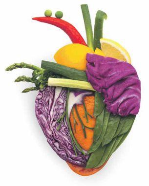 Hart en vaten gebaat bij gezond dieet