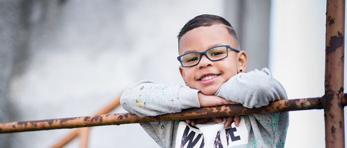 Kinderbrillen die tegen een stootje kunnen