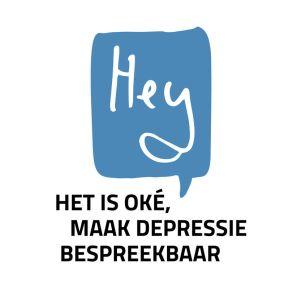 Depressie bespreekbaar maken: Hey! het is oké