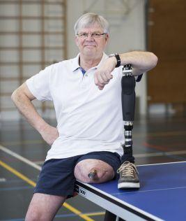 'Gelukkigste man ter wereld door klikprothese'