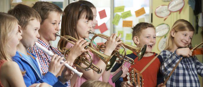 Muzieklessen beïnvloeden cognitieve vaardigheden kinderen