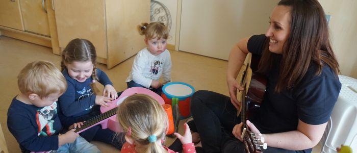 Muziek in de kinderopvang