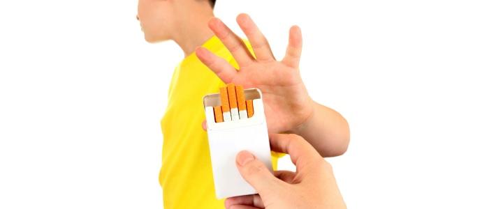 Eerste boek over roken voor kinderen
