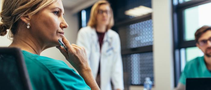 Casemanager nauw betrokken in behandeling van longkankerpatiënt