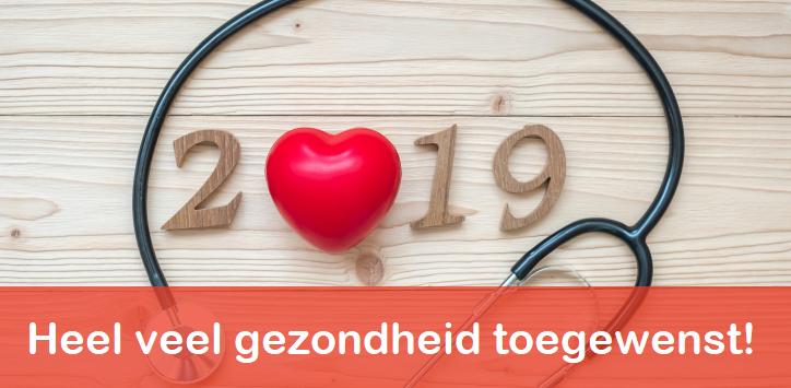 Heel veel gezondheid in 2019!