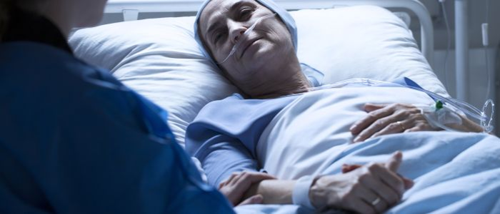 Palliatieve zorg bij patiënten met longcarcinoom