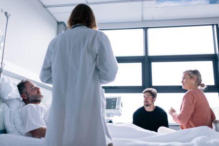 Longkanker raakt zowel de patiënt als de directe omgeving