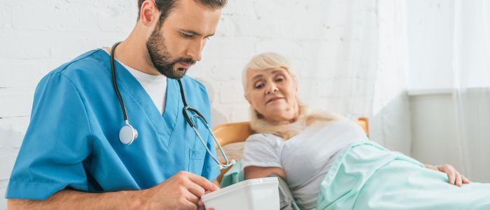Meer mensen werkzaam in de verpleegzorg