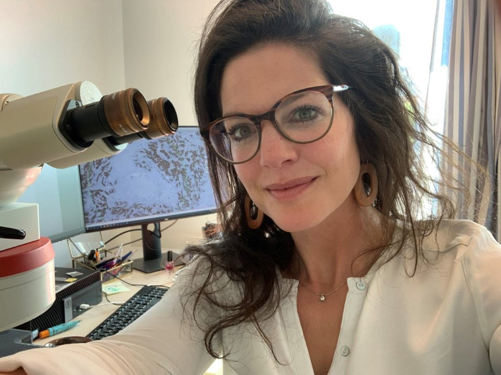 Danielle Cohen, patholoog, LUMC
